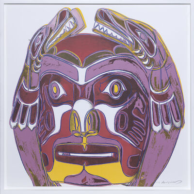 Andy Warhol, 'Northwest Coast Mask', 1986