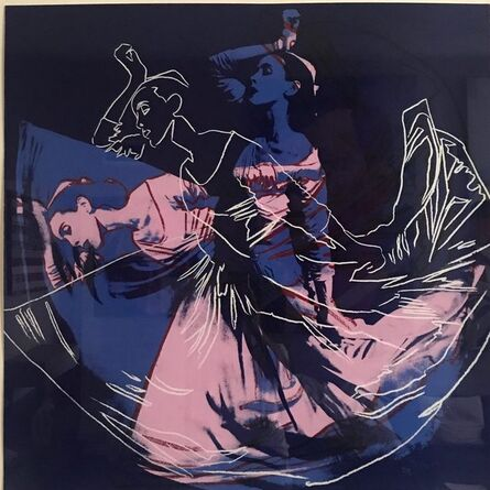 Andy Warhol, 'Letter to the World (The Kick) (Unique)', 1986