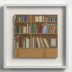 Lucy Williams, 'Library at Maison Louis Carrè #6', 2017