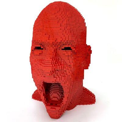 Nathan Sawaya, 'Red Angry', 2018