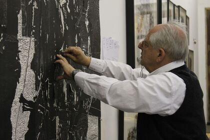 William Kentridge's Triumphs and Laments Woodcuts Series