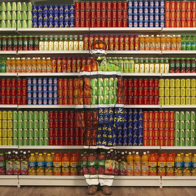 Liu Bolin, 'Soft drinks', 2012
