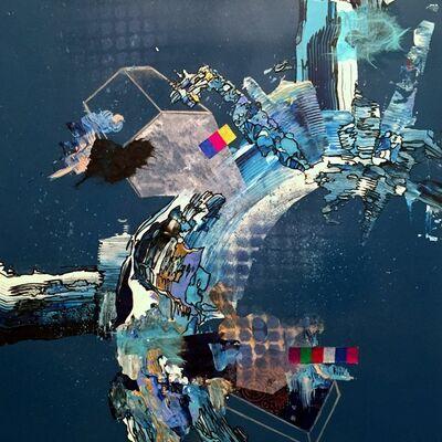 Yuni Lee, 'Efflorescence (blue)', 2015