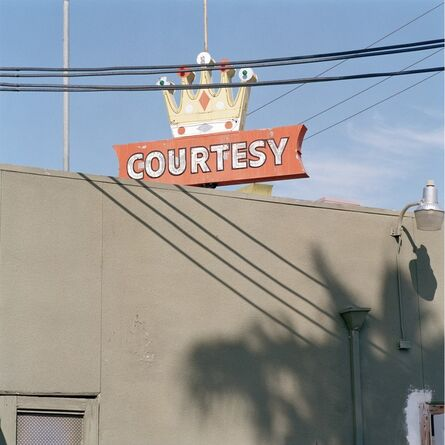 Jeff Brouws, 'Courtesy, Imperial Valley, California', 1993