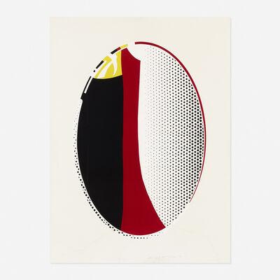 Roy Lichtenstein, 'Mirror #6 (from the Mirror series)', 1972