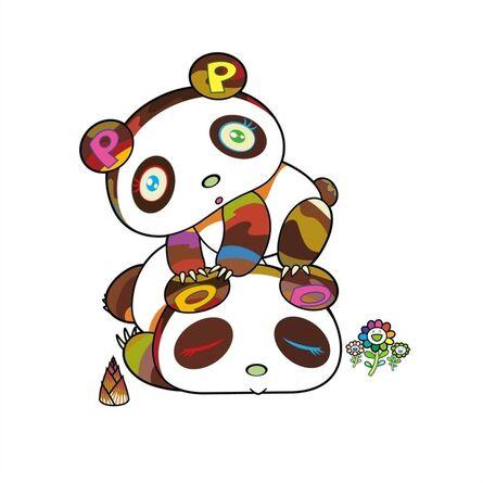 Takashi Murakami, 'Panda. Hoyoyo, Suyasuya.', 2020