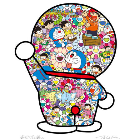Takashi Murakami, 'Doraemon's daily life', 2020