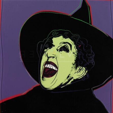 Andy Warhol, 'Myth Portfolio- The Witch (After Andy Warhol)', 1981