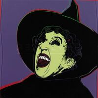 Andy Warhol, 'Myth Portfolio- The Witch (After Andy Warhol)', 1981