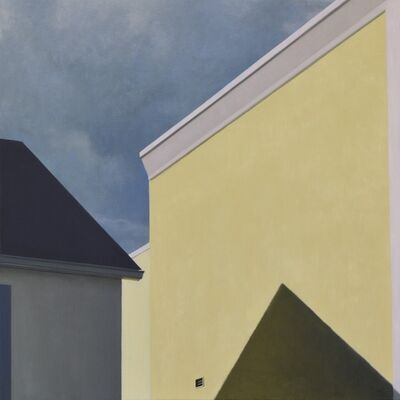 Lillian Bayley-Hoover, 'Yellow Warehouse', 2015