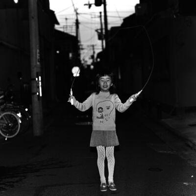 Toshio Enomoto, '060 - Girl jumping rope, Shimabara', 1988