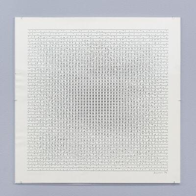 Manfred Mohr, 'P-159-N/R801', 1974