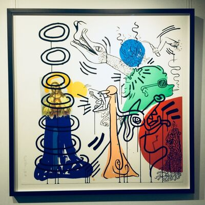 Keith Haring, 'Apocalypse No. 5', 1988