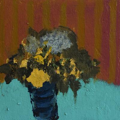 Jennifer Hornyak, 'Tonal Stripes with Yellow', 2021