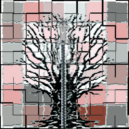 Elisa Pritzker, 'Mondian Tree 4', 2013