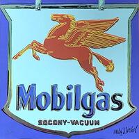 Andy Warhol, 'Mobilgas', 1986