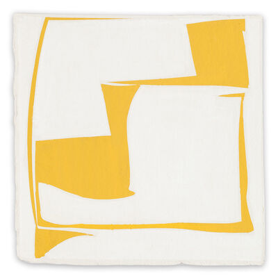 Joanne Freeman, 'Covers 13 - Yellow (Abstract painting)', 2014