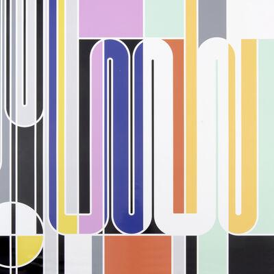 Sarah Morris, 'Geigy (Clips)', 2011