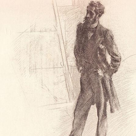 """Giovanni Boldini, '""""Ritratto di Paul Helleu in Piedi (Prandi 47""""', ca. 1905"""