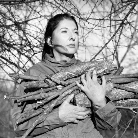 Marina Abramović, 'Portrait with firewood', 2009