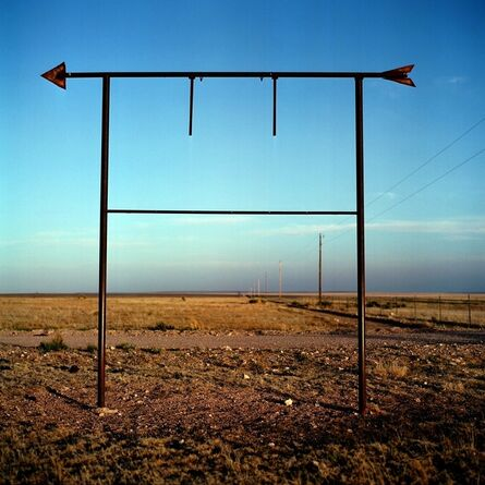 Allison V. Smith, 'Road to Valentine. May 2008. Outside Lobo, Texas', 2012
