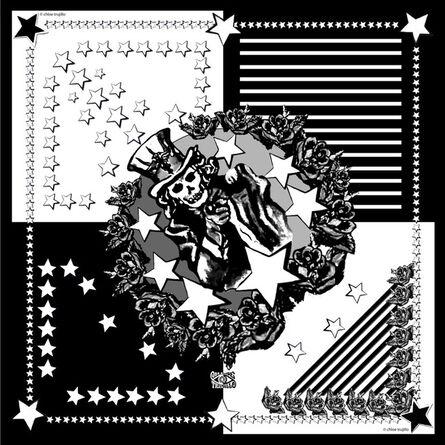 Chloe Trujillo, 'America (Black & White)'
