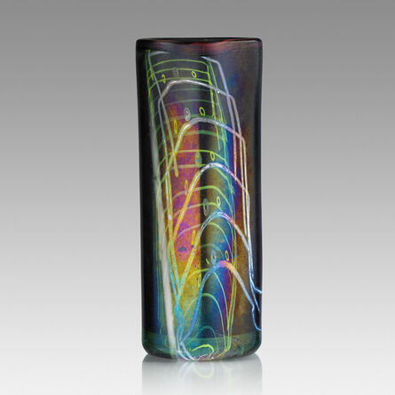 Dale Chihuly, 'Early Blanket Cylinder, Providence, RI', 1975