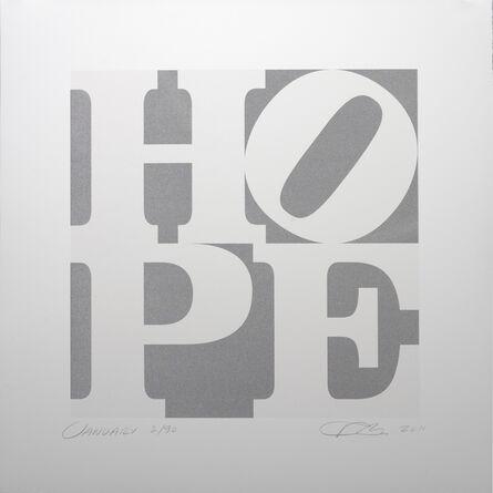 Robert Indiana, 'HOPE, January', 2011