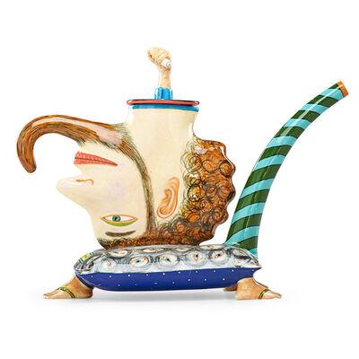 "Sergei Isupov, 'Teapot, ""David's Head""', 1994"