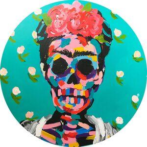 Bradley Theodore, 'Frida in Flowers', 2017
