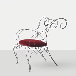 André Dubreuil, 'Andre Dubreuil Ram Arm Chair', 1980-1989