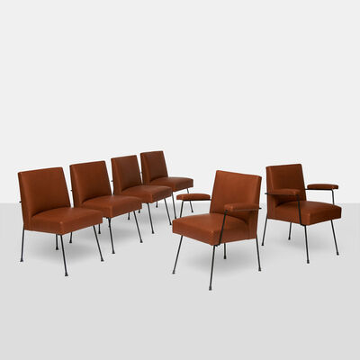Milo Baughman, 'Dining Chairs by Milo Baughman for Pacific Iron', 1950-1959