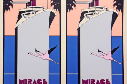 PATRICK NAGEL, THE RARE DOUBLE SETS FROM THE JEFF WASSERMAN COLLECTION-ONLY ONE OF EACH AVAILABLE