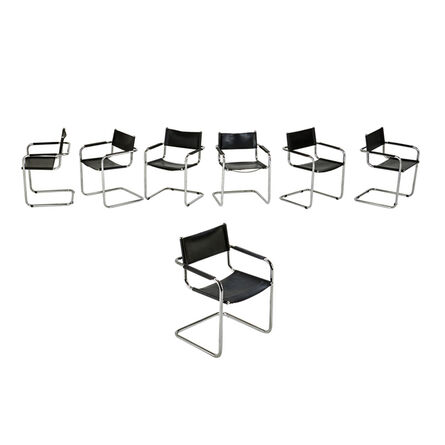 After Mart Stam, 'Seven arm chairs', 1970s