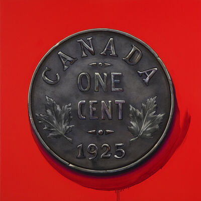 James Lahey, '1 Cent Portrait, 1925 (Made in Canada 3 – A Memoir)', 2019-2020