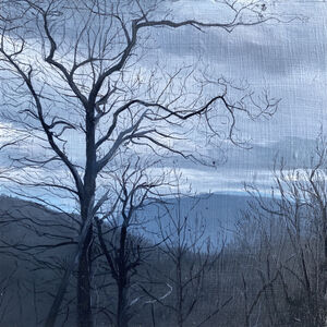 Kimberly Clark, 'Before the Fog, Linville Gorge', 2020