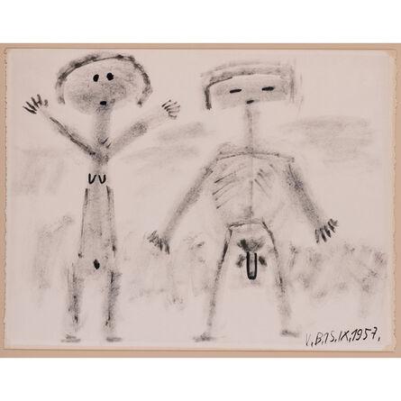Victor Brauner, 'Couple'
