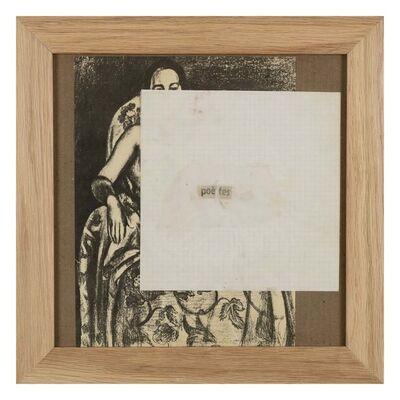 Gil J Wolman, 'Untitled (poètes)', 1983