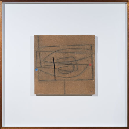 Victor Pasmore, 'Linear Development in Two Movements (Brown)', 1973