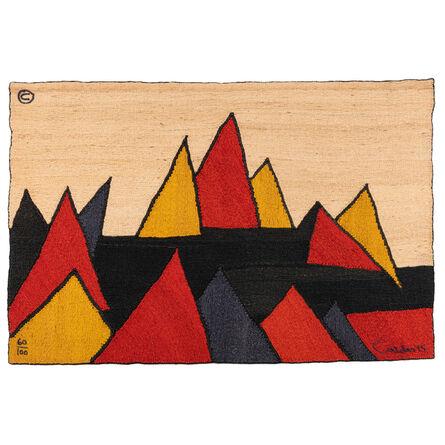 Alexander Calder, 'Pyramid No. 60/100, Tapestry', 1975