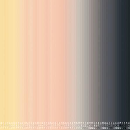 Inge Dick, 'spring light white 2015/39', 2015