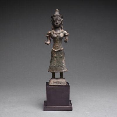 Khmer 14th Century, 'Khmer Bronze Sculpture of Uma', ca. 13th Century