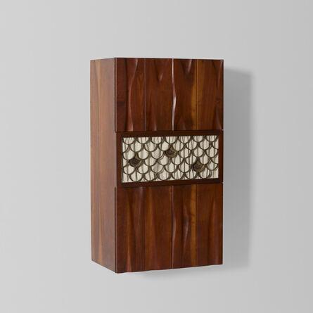 Phillip Lloyd Powell, 'Wall-Mounted Cabinet', c. 1962