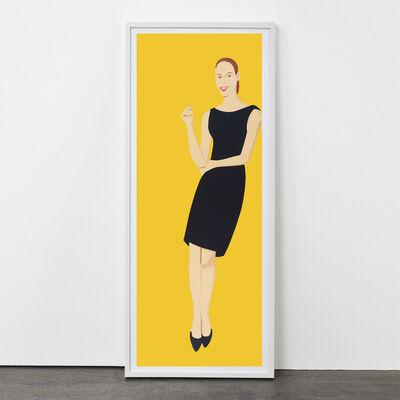 Alex Katz, 'Black Dress (Ulla)', 2015
