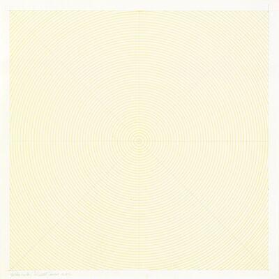 Sol LeWitt, 'Yellow Circles', 1972