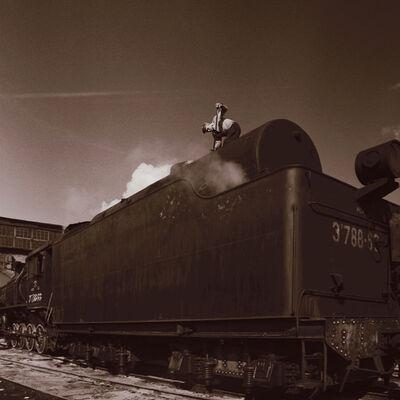 Boris Savelev, 'Alexandrov  steam locomotive', 1978