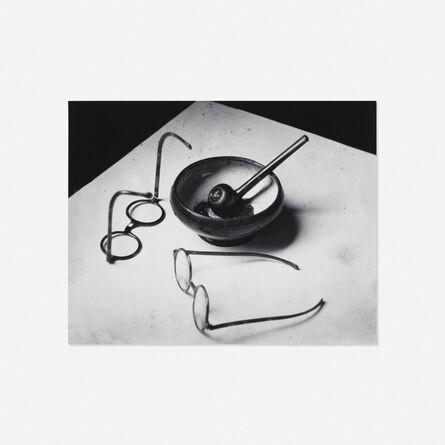 André Kertész, 'Mondrian's Glasses and Pipe, Paris'