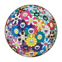 Takashi Murakami, 'Flower Ball: Multicolor (Thoughts on Matisse)', 2015