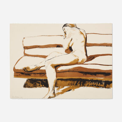 Philip Pearlstein, 'Nude on Couch (from the Six New York Artists portfolio)', 1969