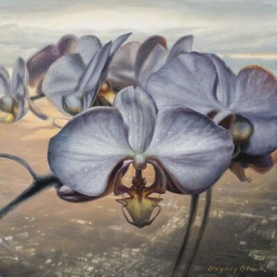 Gregory Block, 'Orchid 2', 2020